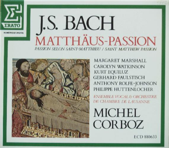 Michel Corboz  Lausanne Vocal Ensemble  Chamber Orchestra  Bach Cantatas  Other Vocal Works